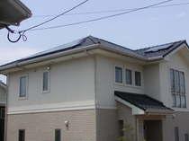 太陽光発電システム施工例 東面